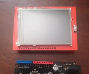 How to Use 2.4 Inch TFT LCD SPFD5408 With Arduino Uno and Mega