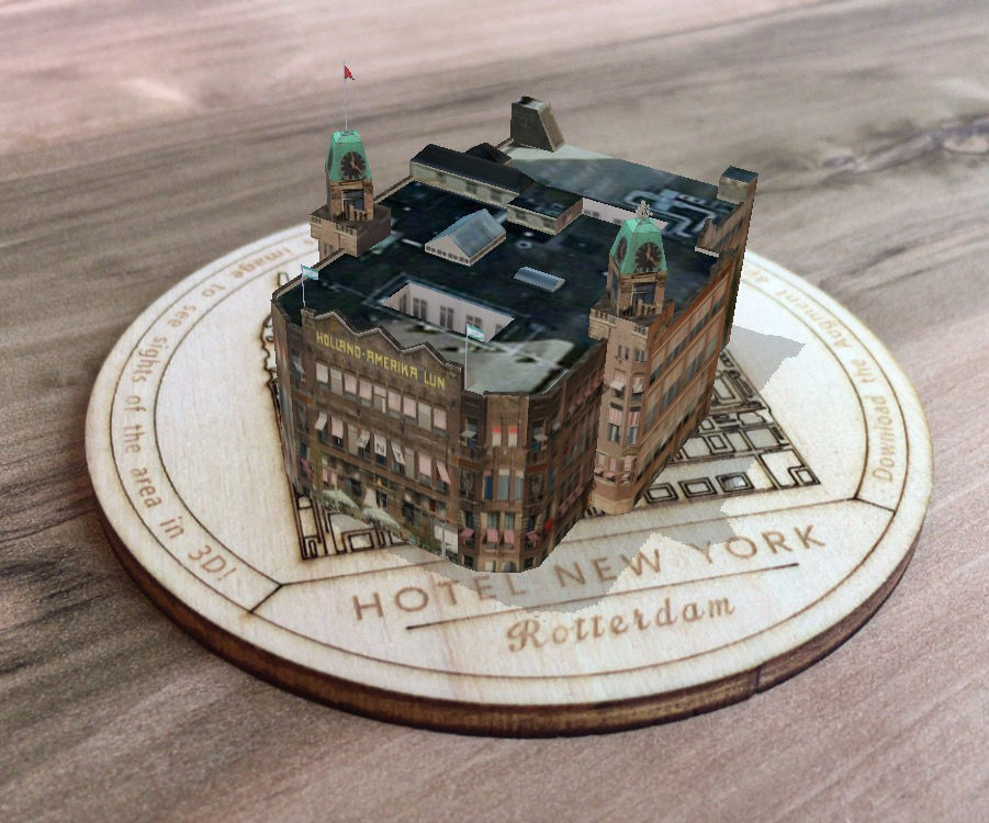 CityCoaster - Build Your Own Augmented Reality Coaster for Your Business