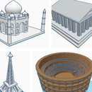 3-D Monuments on Tinkercad