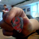Making a guitar pick out of credt cards