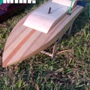 "14,4 "" Balsa boat Build"