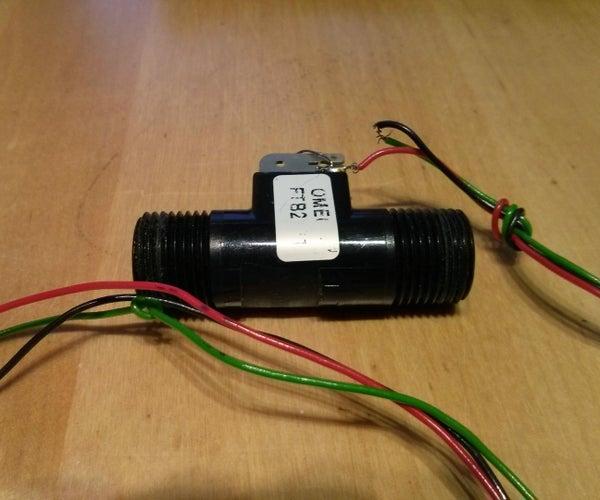 Water Flow Sensor Interlock