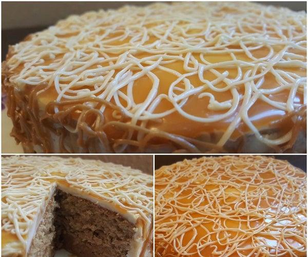 Caramel Vanilla Latte Cake