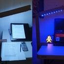 Cardboard Desk Lamp: DIY, Easy and Functional