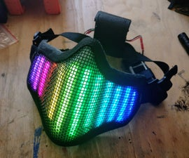 Neopixel LED Face Mask