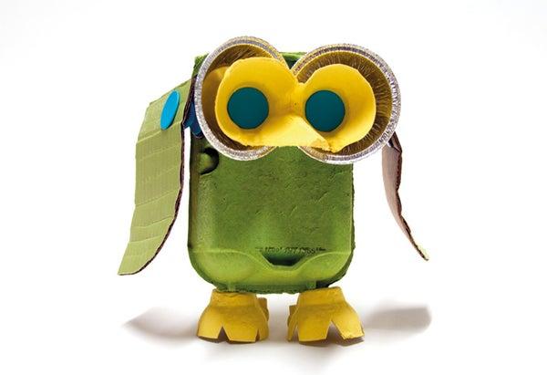 Makedo Egg Carton Owl