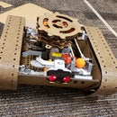 Laser Cut Nerf Ball Shooting Lego EV3 Tank