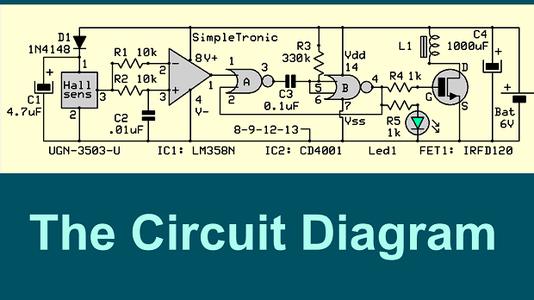 Circuit Diagram & Main Components