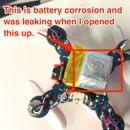 The problem: Nano Drone Battery Repair