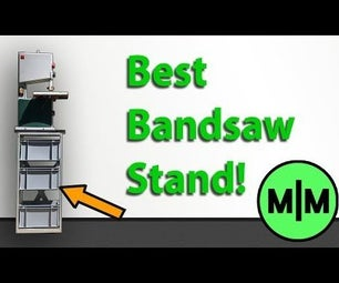 Bandsaw Stand Out of Aluminium Profiles