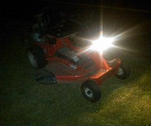 Add-on Headlight for Snapper Lawnmower