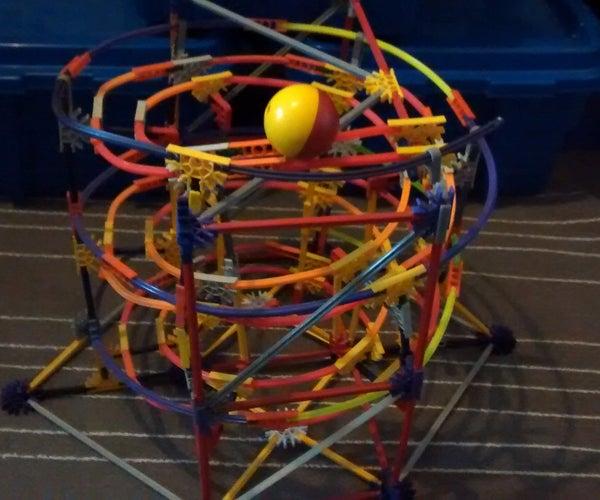 Bendy Spiral | a K'nex Ball Machine Element