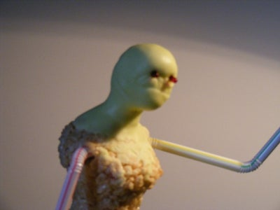 Sculpting the Witch's Body & Head Base