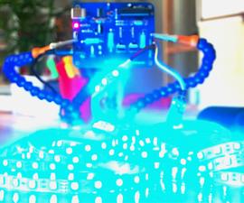 Music Reactive Multicolor LED Lights | Arduino Sound Detection Sensor | RGB LED Strip