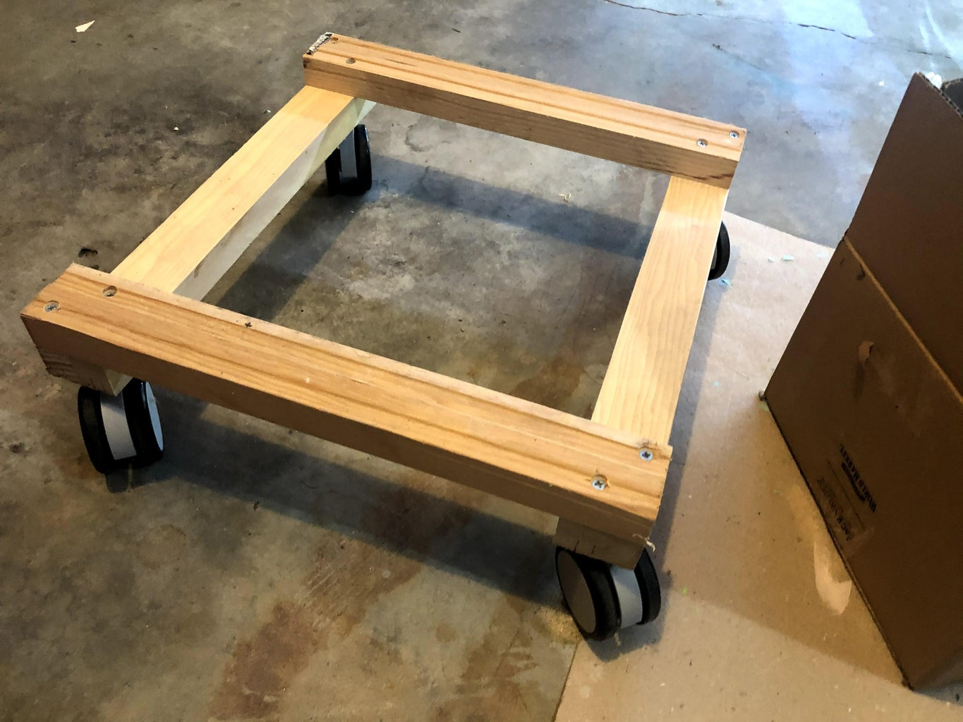 Build the Trailer's Base