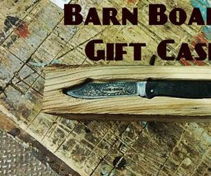 Simple Barn Board Gift Case