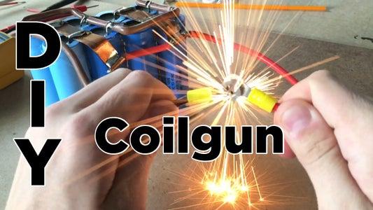 DIY Easy Coilgun   Electronic Projectile Launcher