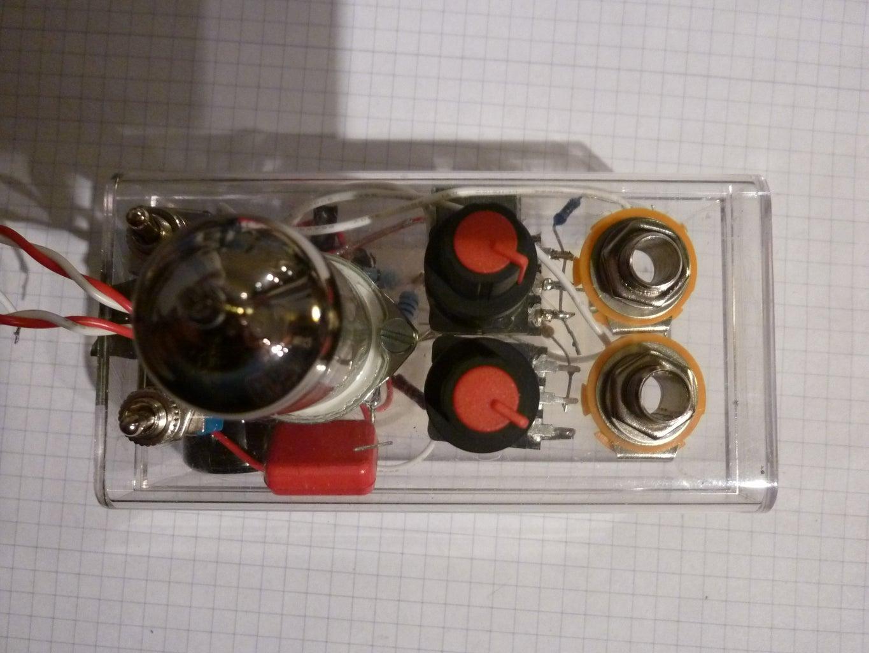 Guitar Tube Pre Amp