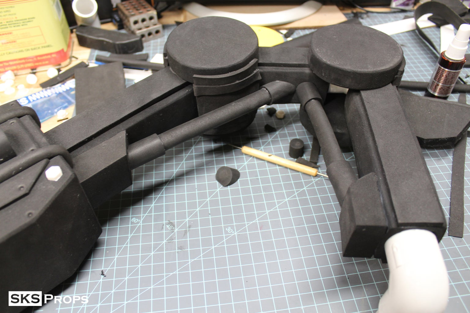 Mechadendrite Arm - PVC Structure
