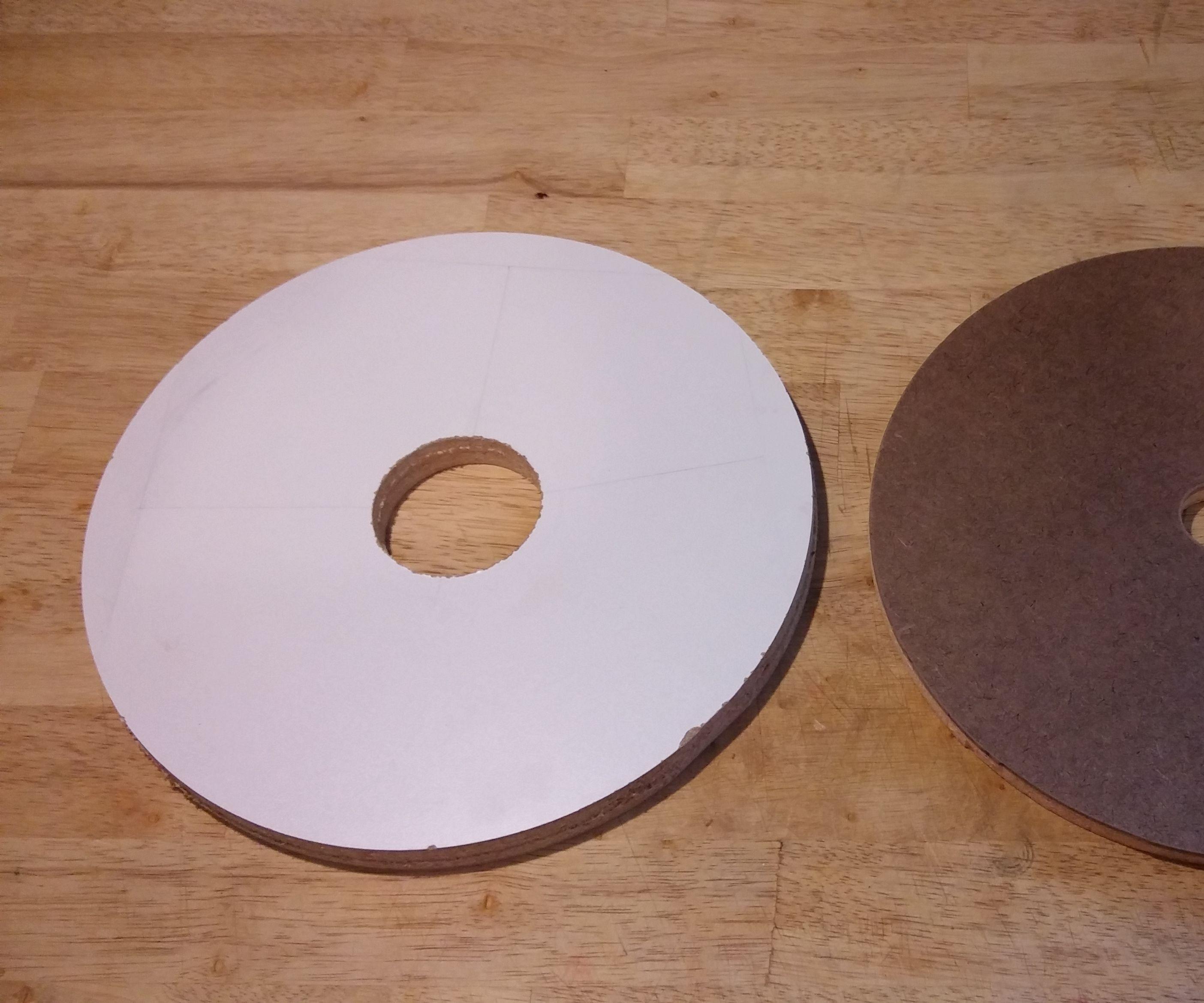 Drill Press Sanding Plates