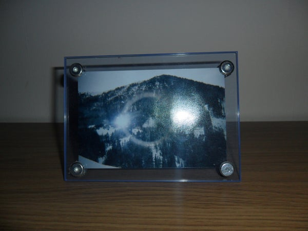 Simple Sandwich Acrylic Photo Frame