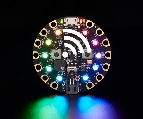 Code a TV Remote Using Circuit Playground Express and CircuitPython