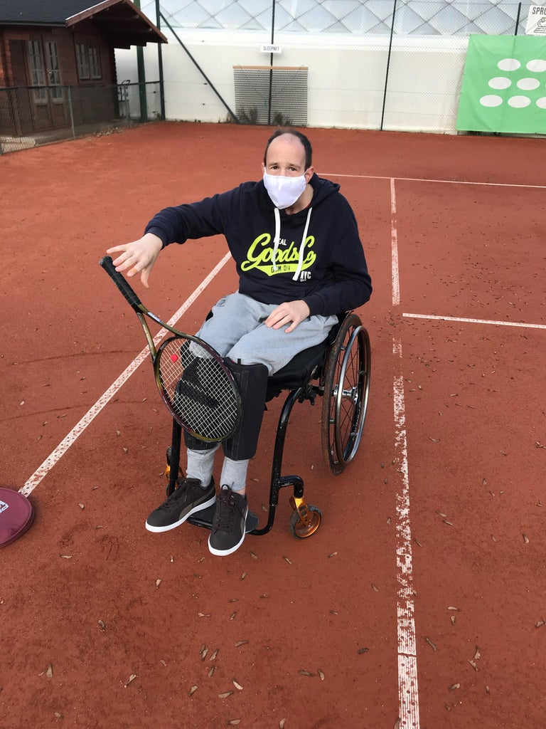 Tennis Racket Holder