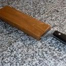 Funda de madera para cuchillo de cocina