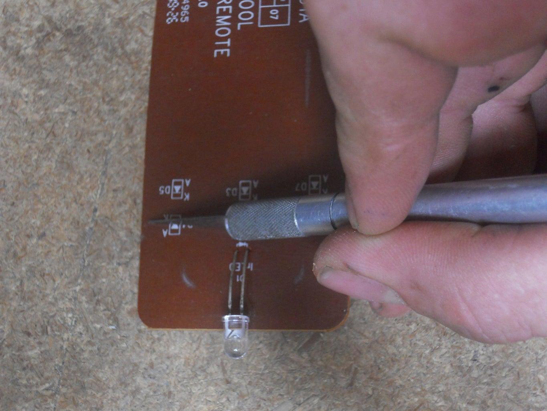 Cutting the Circuit Board