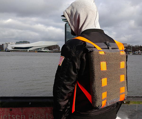 INTERCHANGEABLE DESIGN CITY BACKPACK «CARRY»