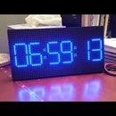 Morphing Digital Clock