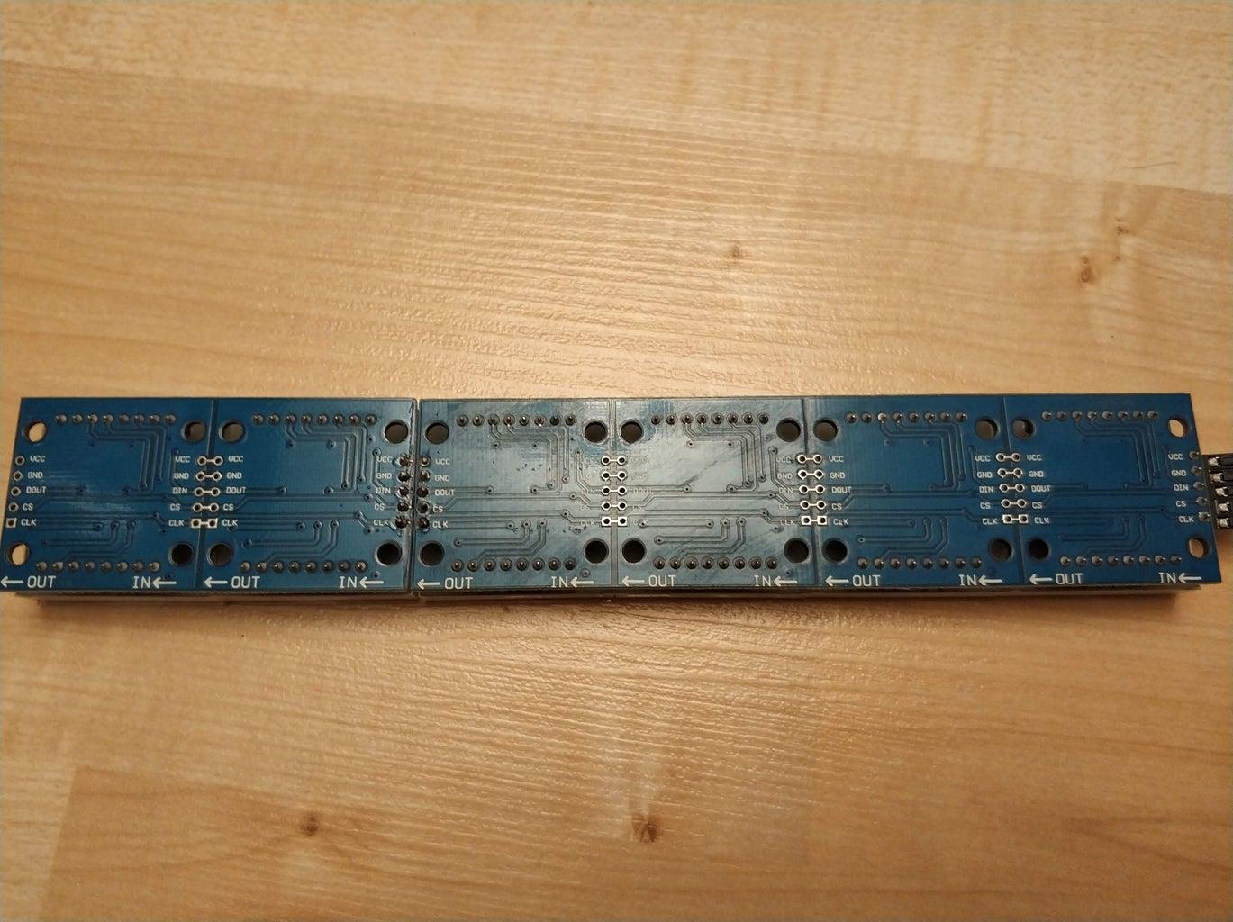Preparing the LED Matrix