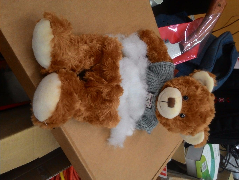 Processing Stuffed Animals 處理絨毛娃娃的手及身體
