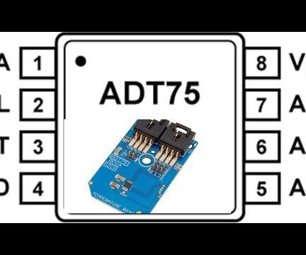 Measurement of Temperature Using ADT75 and Arduino Nano