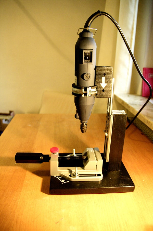 Easy Drill Stand for Rotary Tool