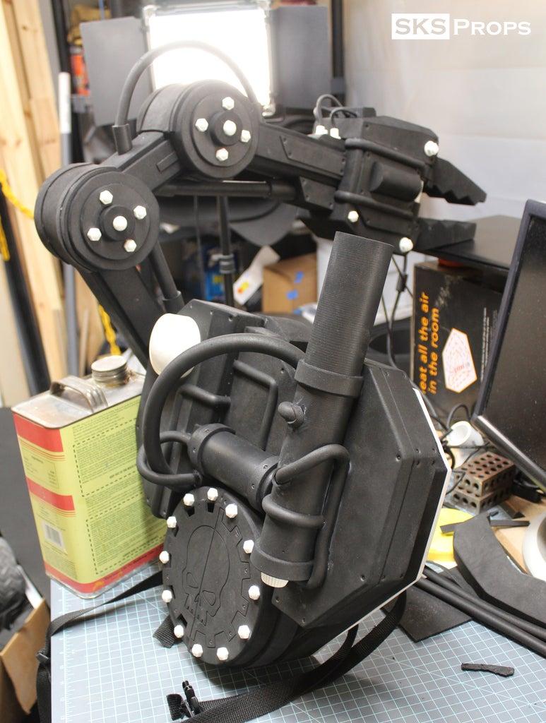 Mechadendrite Arm - Final Arm Details
