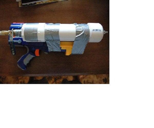 Nerf Gun Modification