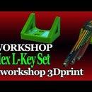 Workshop Magnetic Handle for Hex L-key Set