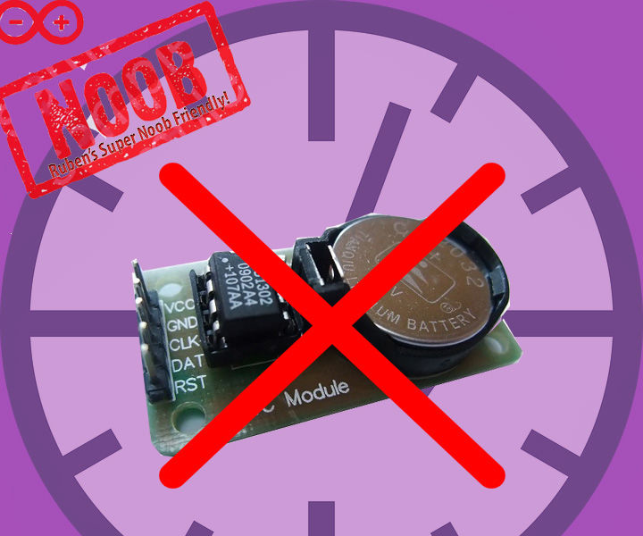 TESTED:  Timekeeping on ESP8266 & arduino uno WITHOUT an RTC (Real Time CLock)?