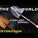 Rusty Shovel Restoration. Making the World's Fanciest Shovel