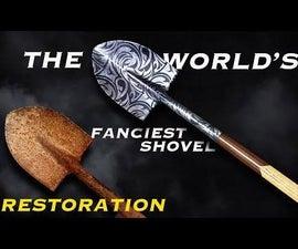 Rusty Shovel Restoration. Making the World's Fanciest Shovel