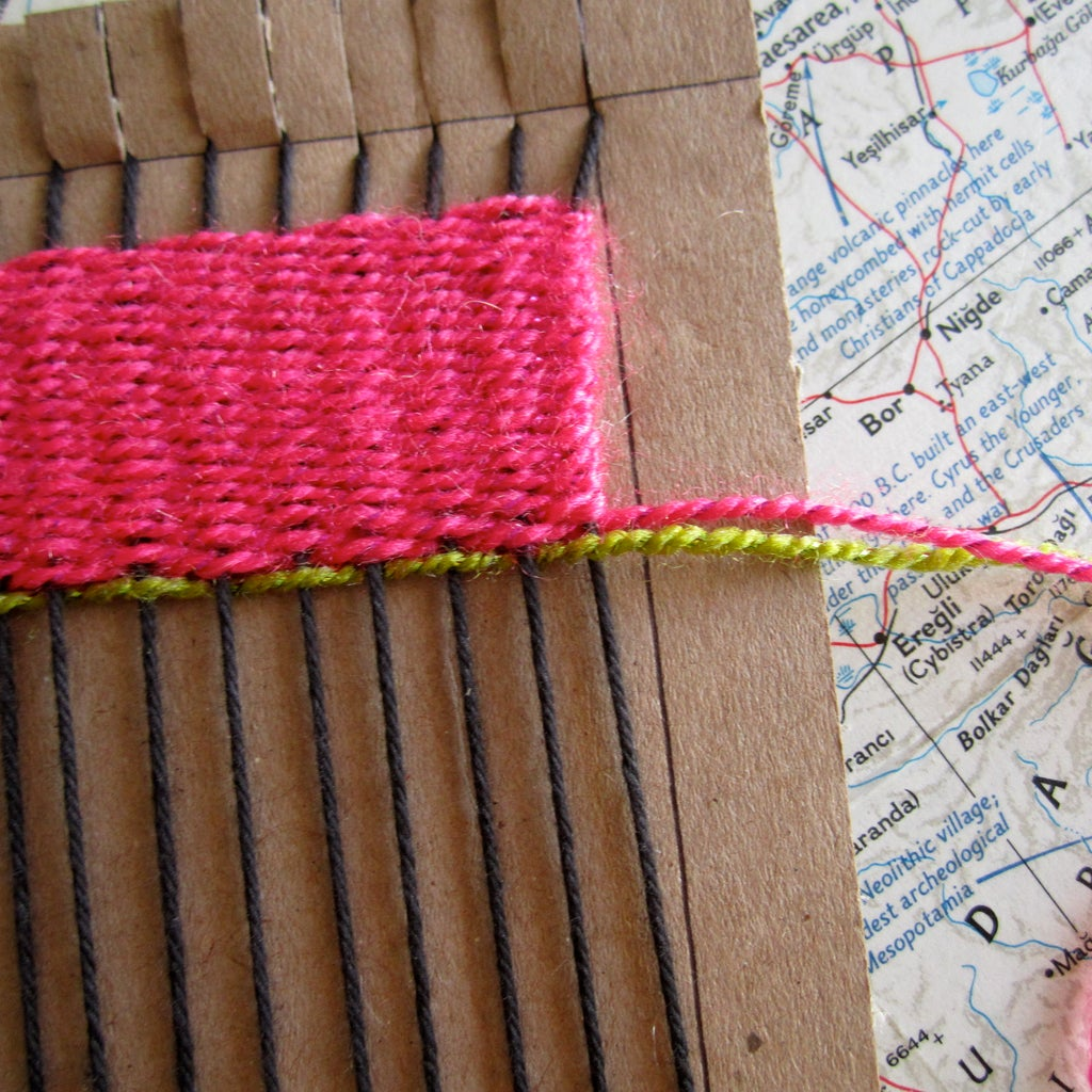 Continue + Introducing New Yarn Once You Run Out