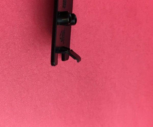 Broken Remote Battery Cover