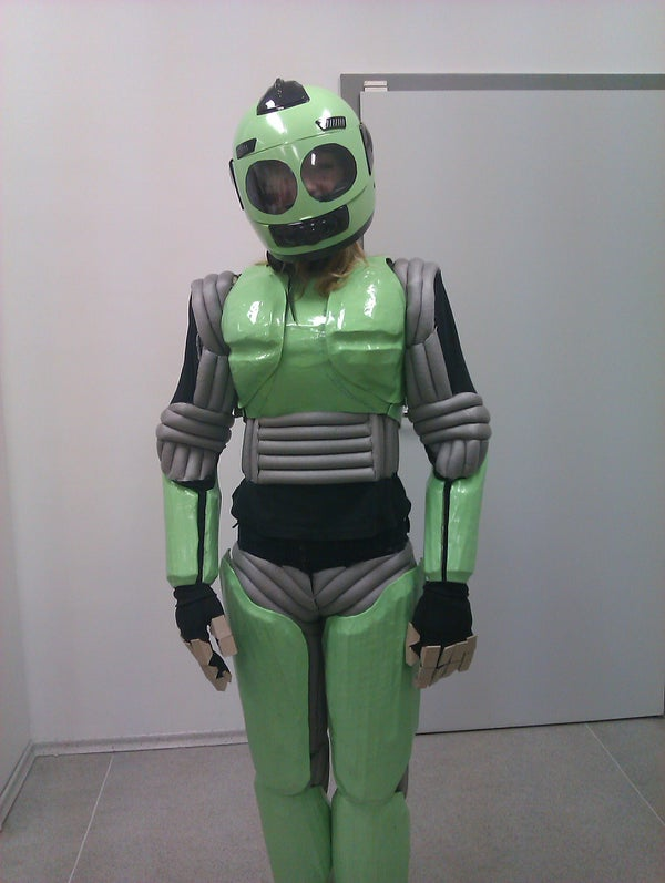Instruction of Making Robots Costume