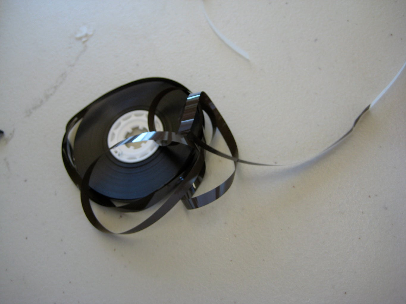 Cut Some Magnetic Tape