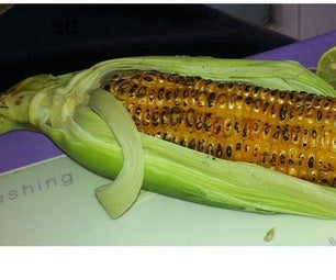 Healthy Grilled Corn With Stem