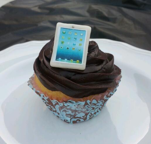 Ipad Cupcakes