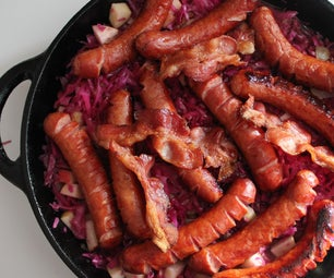 Fermented Purple Sauerkraut