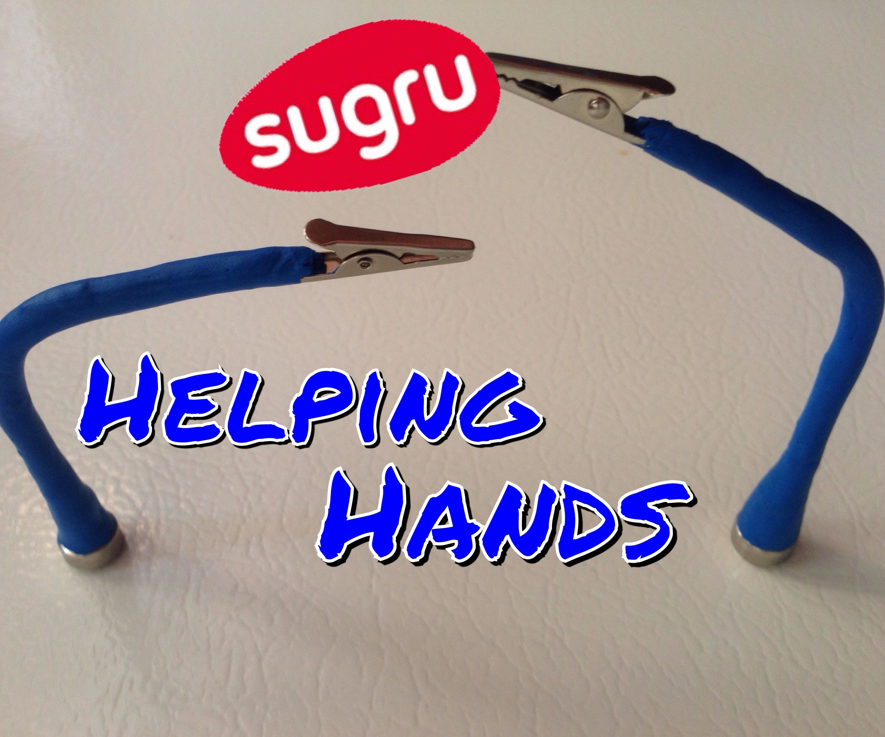 Sugru Magnetic Helping Hands