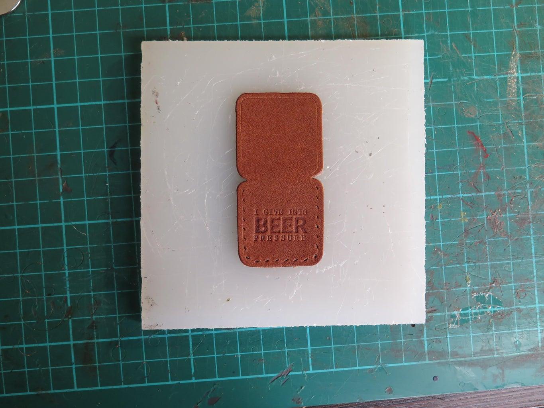 (Optional) Emboss Leather